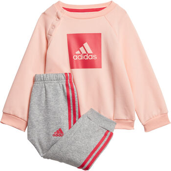 adidas 3-Stripes joggedress barn Jente Oransje