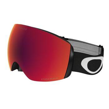 Oakley Flight Deck XM Prizm™ Hi Pink Iridium - Matte White alpinbriller Herre Svart