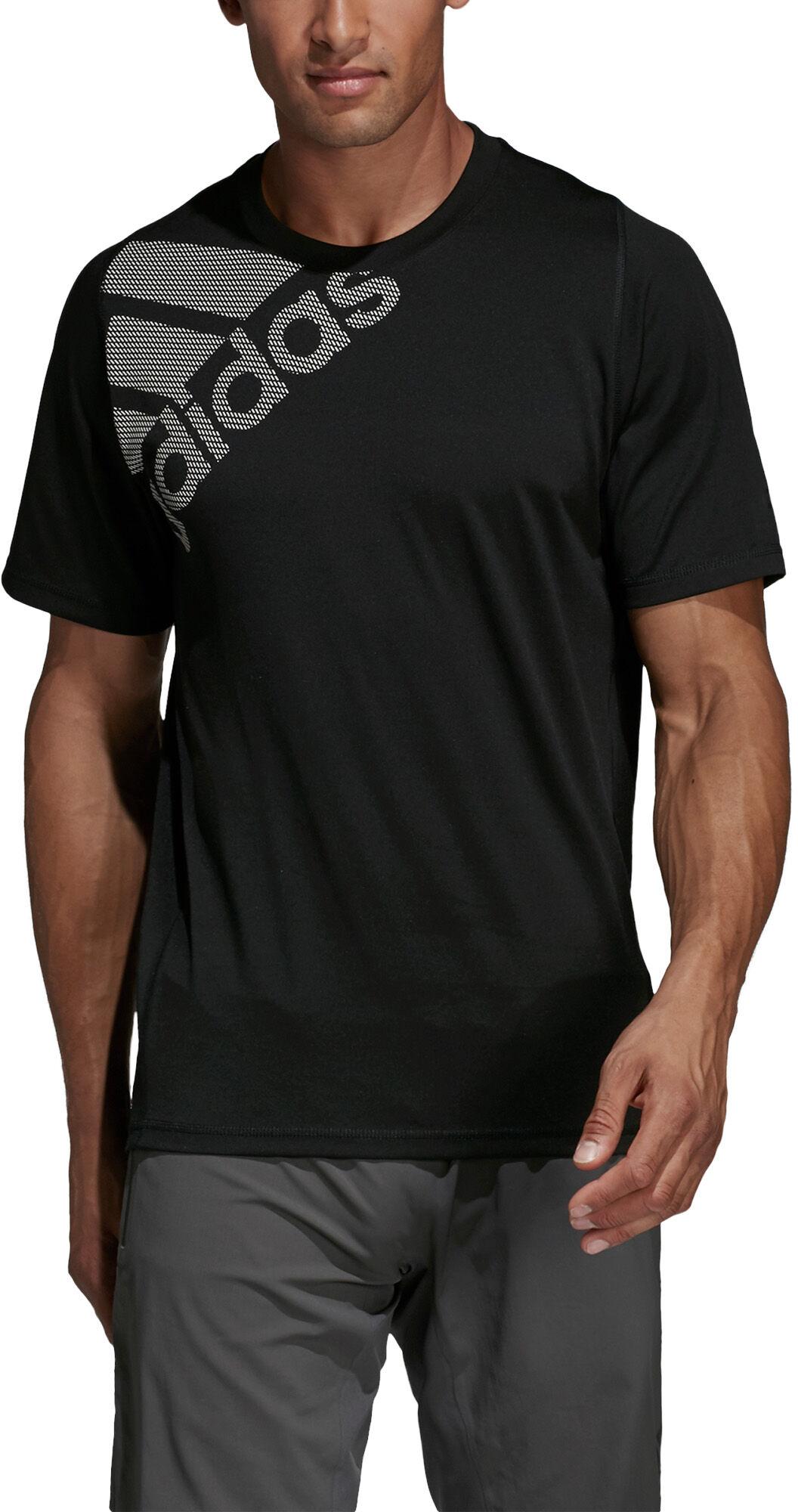 adidas FreeLift Badge Of Sport Tee, t skjorte herre Svart