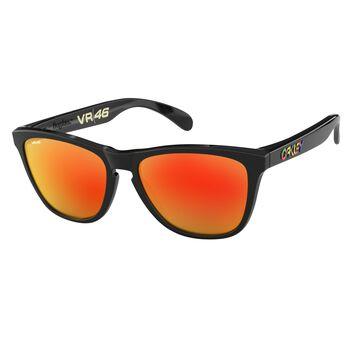 Oakley Frogskins Prizm™ Black - Polished Black solbriller Herre Oransje