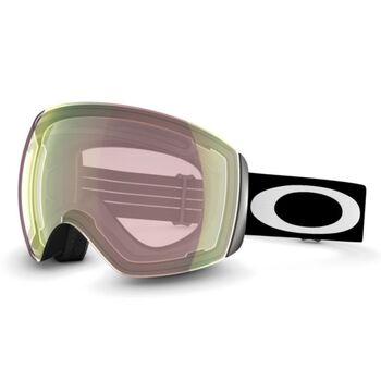 Oakley Flight Deck Prizm™ Hi Pink Iridium - Matte Black alpinbriller Herre Rosa