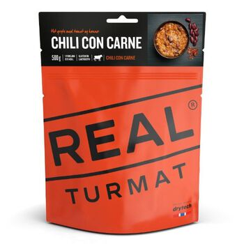 REAL turmat Chilli Con Carne 500 gram Rød