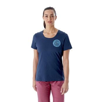 Rab Stance 3 Peaks t-skjorte dame Blå