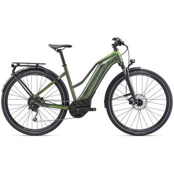 Giant Explore E+ 3 STA el-sykkel dame Grønn