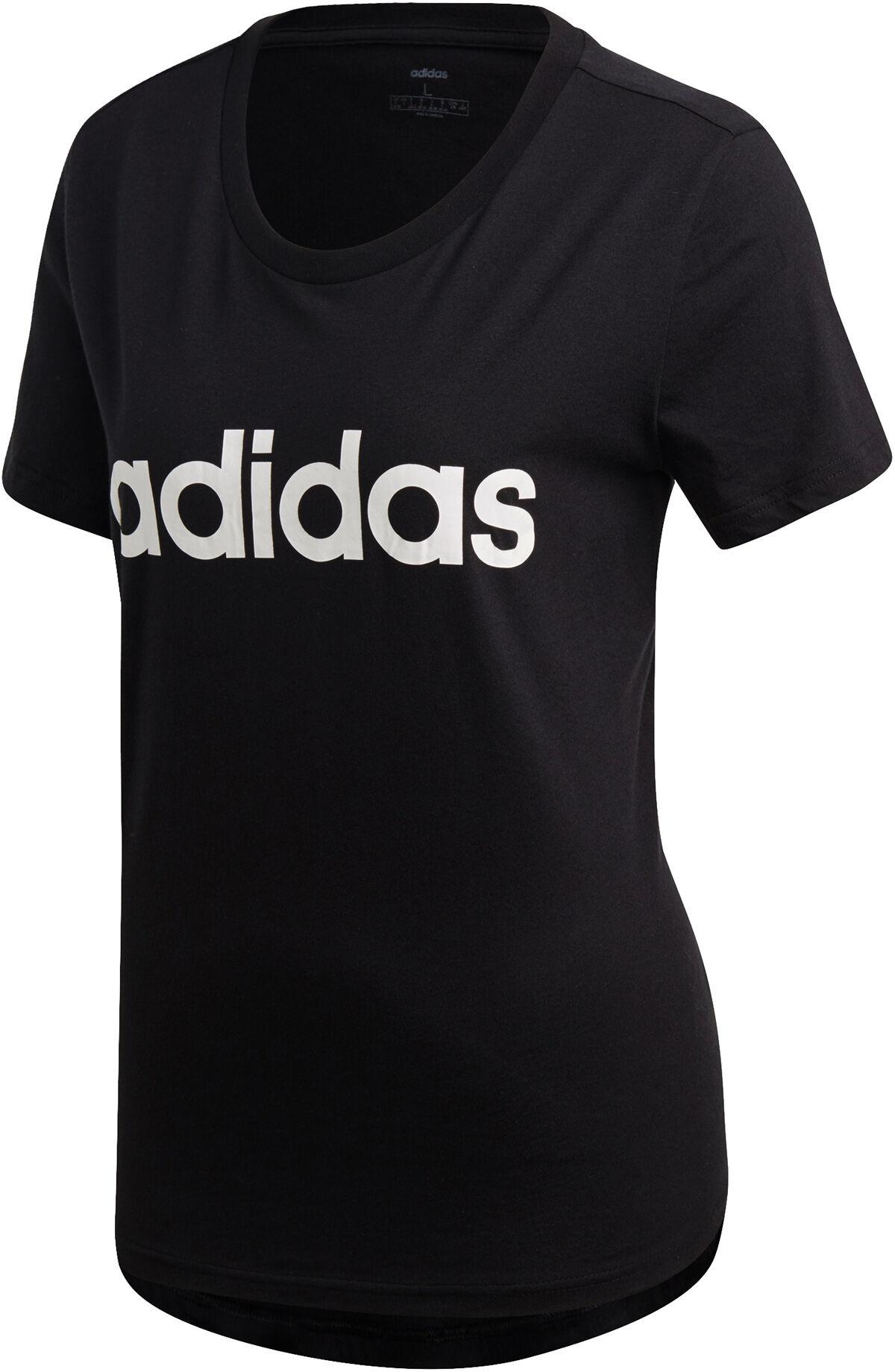 adidas   Essentials Linear t skjorte dame   T skjorter