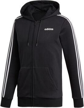 adidas Essentials 3-Stripes Fleece hettegenser  Herre Svart