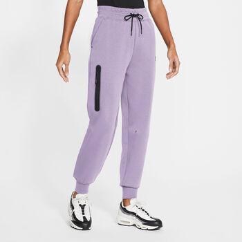 Nike Tech Fleece joggebukse dame Lilla