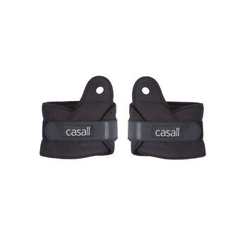 Casall Wrist Weights 2 x 1,5 kg vektmansjett Svart
