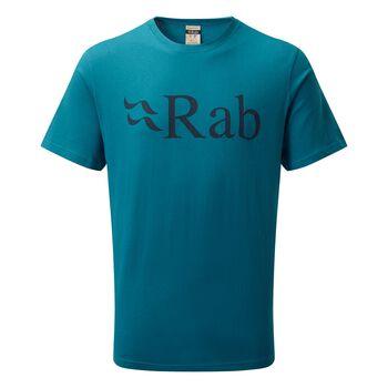 Rab Stance Logo t-skjorte herre Blå