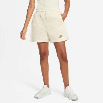 Nike Sportswear fleeceshorts dame Beige