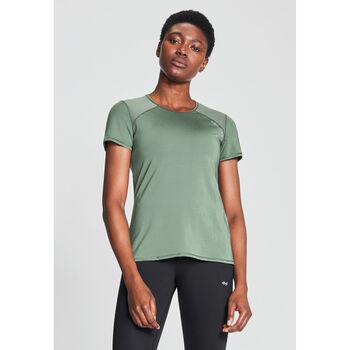 Röhnisch Asta Mesh teknisk t-skjorte dame Grønn