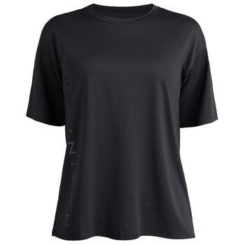 Röhnisch Ivy Loose teknisk t-skjorte dame Svart