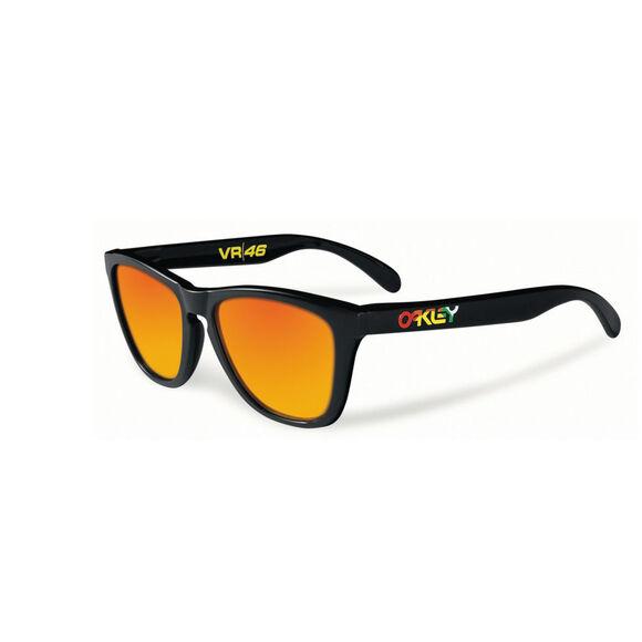 Frogskins VR46 Fire Iridium - Polished Black solbriller