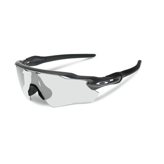 Radar EV Path Clear To Black Photochromic - Steel sportsbriller