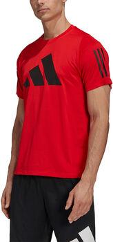 adidas FreeLift teknisk t-skjorte herre Rød