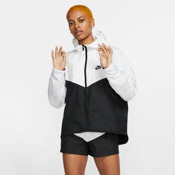Nike Windrunner treningsjakke dame Hvit