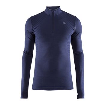 Craft Fuseknit Comfort Zip M teknisk genser Herre Blå