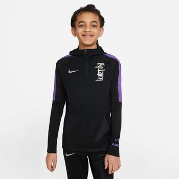 Nike Dri-FIT Kylian Mbappé hettegenser junior Gutt Svart