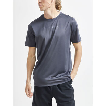 Craft Core Essence SS Mesh teknisk t-skjorte herre Grå