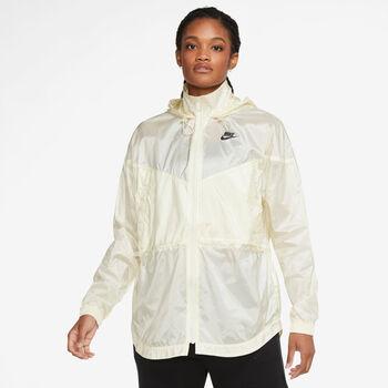 Nike Sportswear Windrunner vindjakke dame Hvit