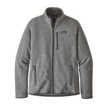 Patagonia Better Sweater fleecejakke herre Grå
