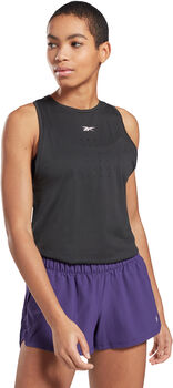 Reebok United By Fitness Perforated singlet dame Svart