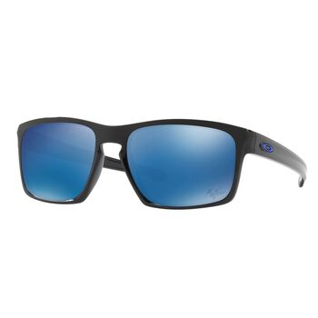 Oakley Sliver Ice Iridium - Polished Black Herre Flerfarvet