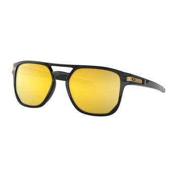 Oakley Latch Beta Polished Black solbriller Gul