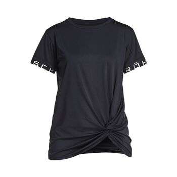 Röhnisch Knot teknisk t-skjorte dame Svart