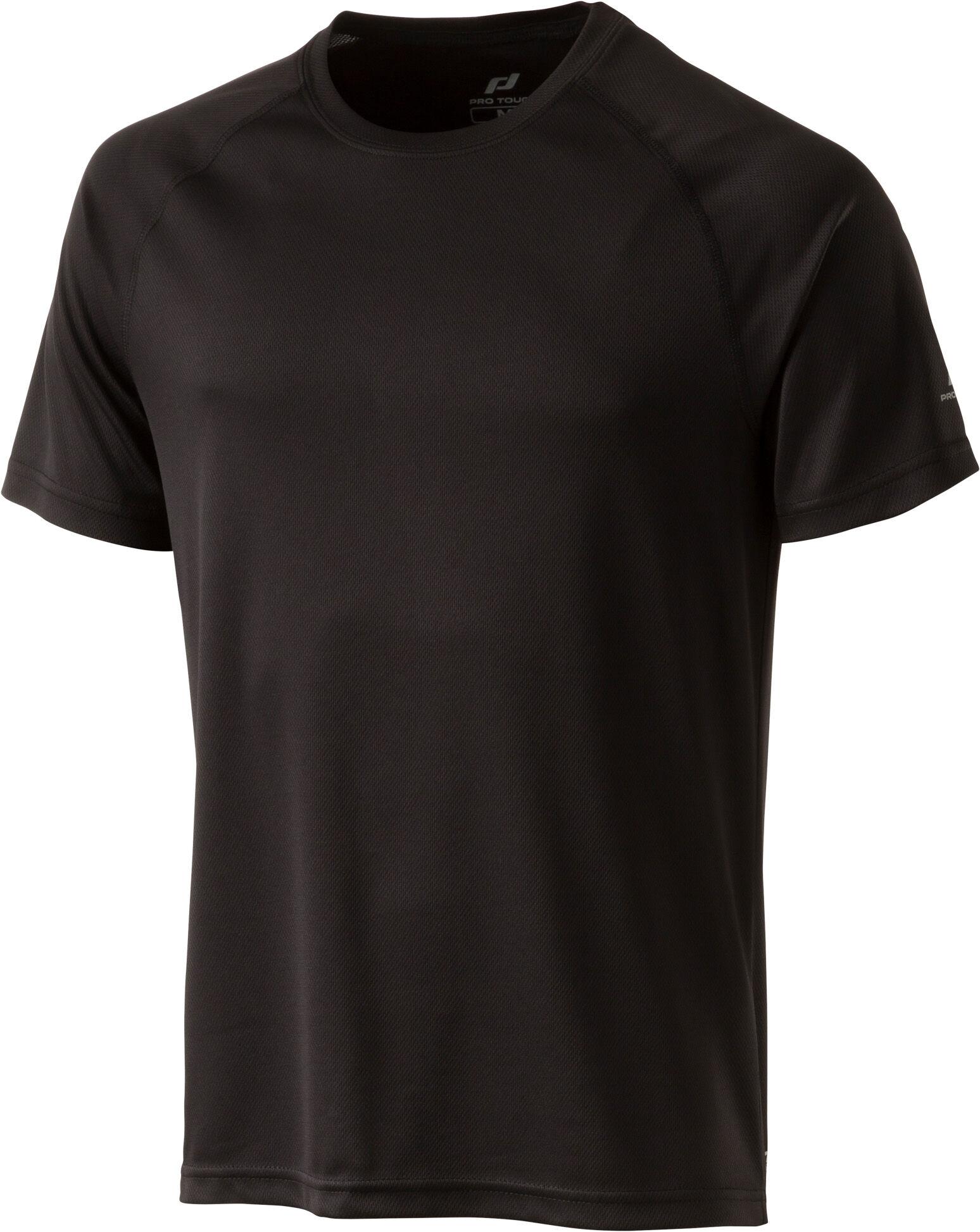 Pro Dry teknisk T skjorte, herre, hvit, XL Pro Dry teknisk