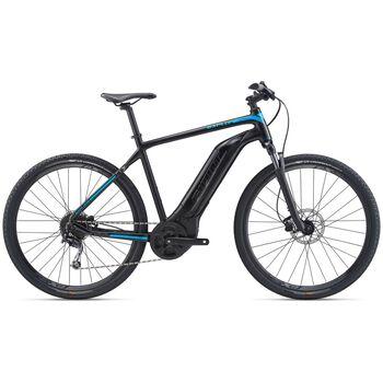 Giant Explore E+ 4 STA el-sykkel dame Svart