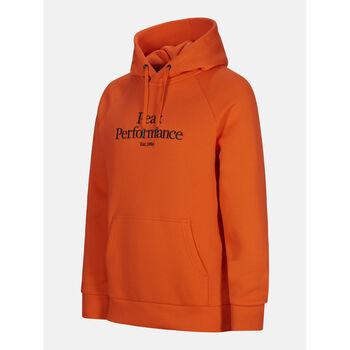Peak Performance Original Hood hettegenser herre  Oransje