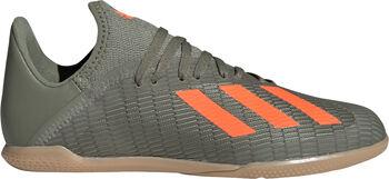 adidas X 19.3 innendørs fotballsko junior Grønn