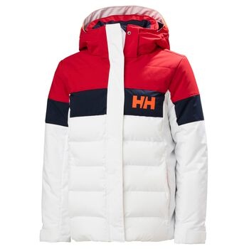 Helly Hansen Diamond vattert skijakke junior Rød