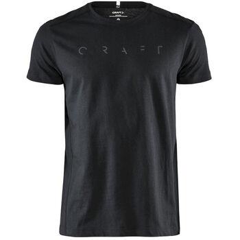 Craft Deft 2.0 SS Tee M t-skjorte herre Svart