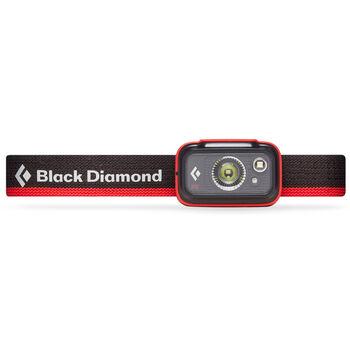 Black Diamond Spot 325 hodelykt Rød