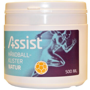 Assist Natur håndballklister 500 ml Grå