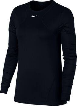 Nike All Over Mesh treningsgenser dame Svart