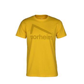 Norheim Granitt Logo t-skjorte herre Gul