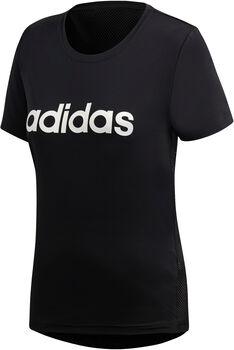 adidas D2M LO t-skjorte dame Svart