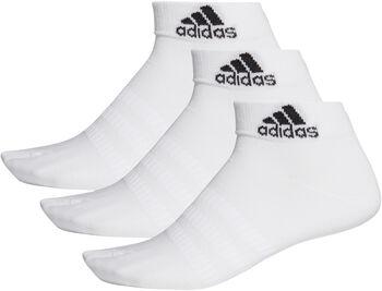adidas 3-pk ankelsokk Hvit