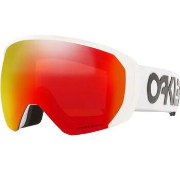 Oakley Flight Path XL Factory Pilot White, Prizm Snow Torch Iridium alpinbriller Herre Rød