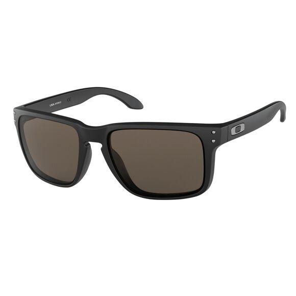 Holbrook XL Warm Grey - Matte Black solbriller