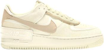 Nike Air Force 1 Shadow fritidssko dame Beige