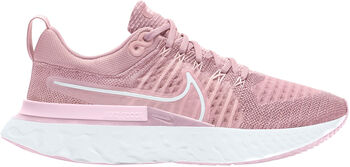 Nike React Infinity Run Flyknit 2 løpesko dame Rosa