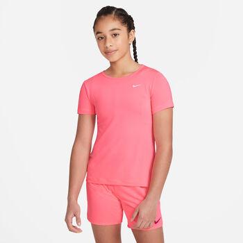 Nike Pro teknisk t-skjorte junior Jente Rosa