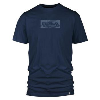 Bula Frame t-skjorte herre Blå