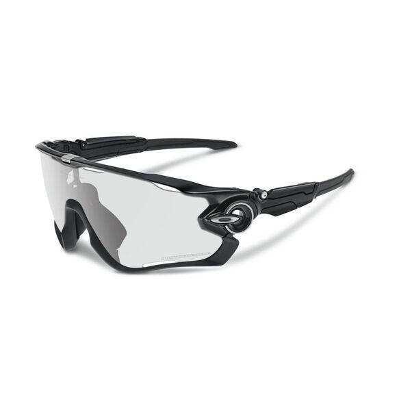 Jawbreaker Clear To Black Photocromic - Polished Black sportsbriller