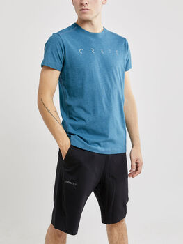 Craft Deft 2.0 SS Tee M t-skjorte herre Blå