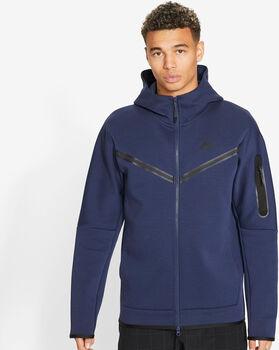 Nike Sportswear Tech Fleece hettejakke herre Blå